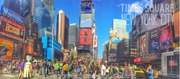 Times Square, New York City Panorama