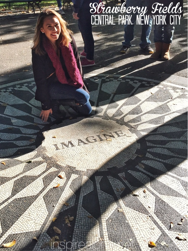 New York Stops: Central, Madison Square, and Battery Park -- John Lennon Memorial