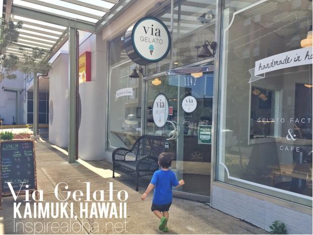 Island Life: Via Gelato, Kaimuki, Hawaii