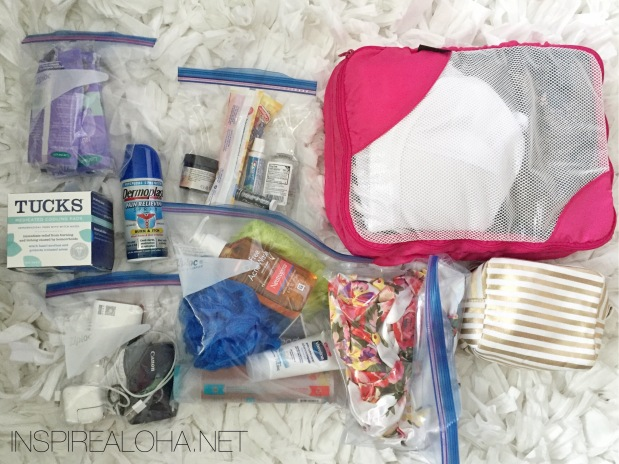What's In My Hospital Bag || Mommy's Hospital Bag for Labor & Delivery || INSPIREALOHA.NET